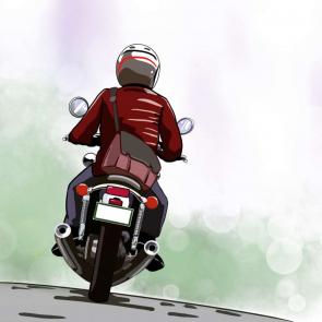 バイク14